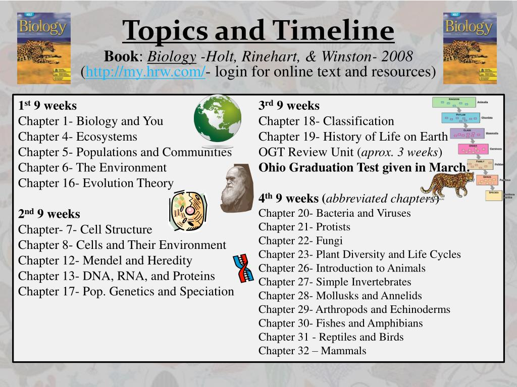 PPT - Welcome to General Biology Room 132 Mrs  Wernet