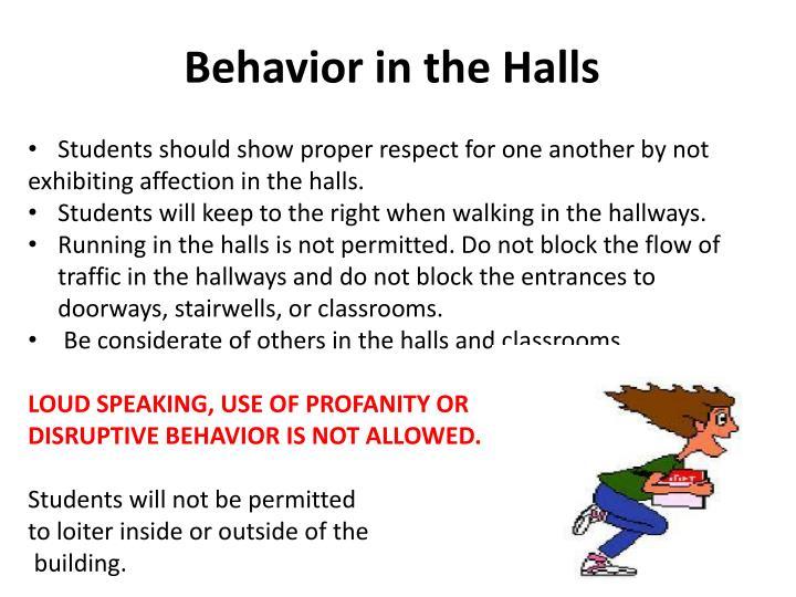 Behavior in the