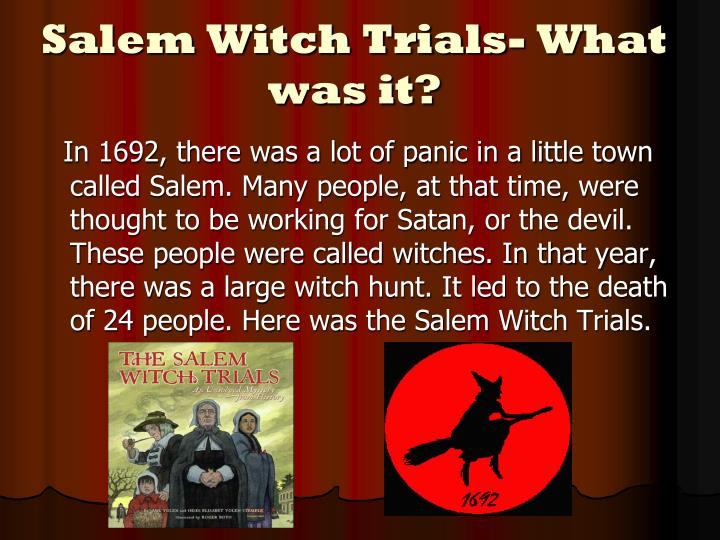 """the cause of the salem witch crisis of 1692 Five myths about the salem witch  we would finally have a diagnosis for what might have caused a salem girl to complain of  and hysteria in 1692 salem""""."""