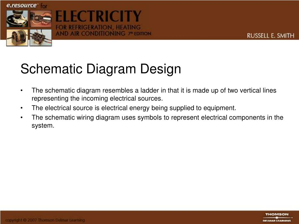 refrigeration components wiring diagram symbols ppt reading schematic diagrams powerpoint presentation  free  ppt reading schematic diagrams