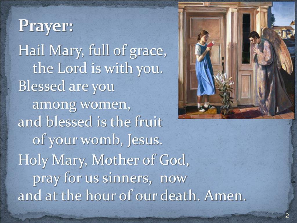 """PPT - Mary, Model of Faith """"The Year of Faith through the"""