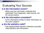 evaluating your sources1
