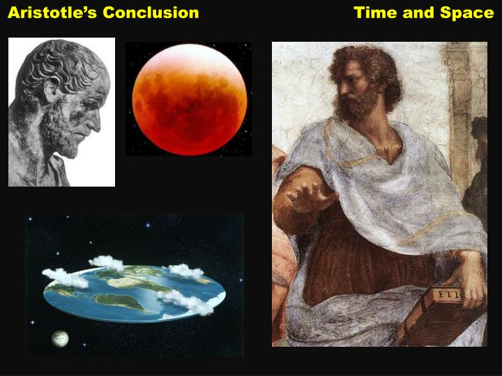 aristotle s conclusion time and space n.