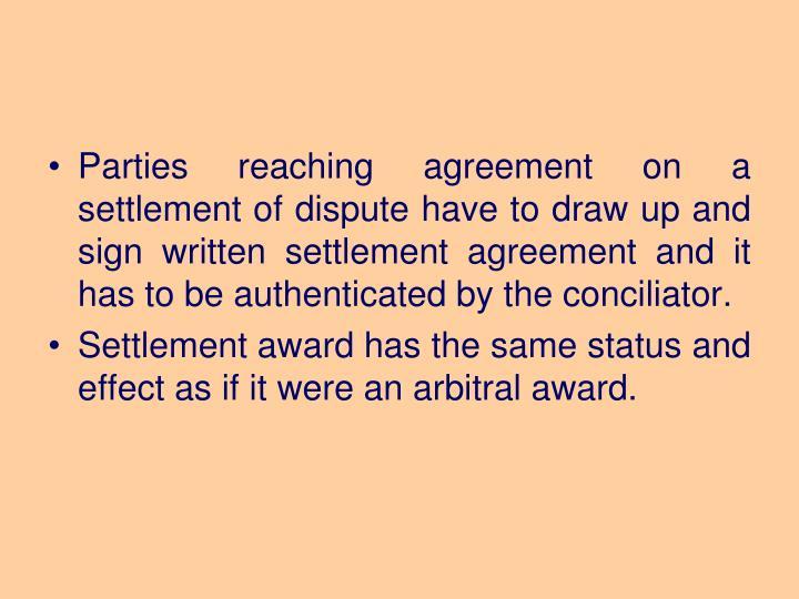 Written Settlement Agreement Gallery Agreement Letter Format