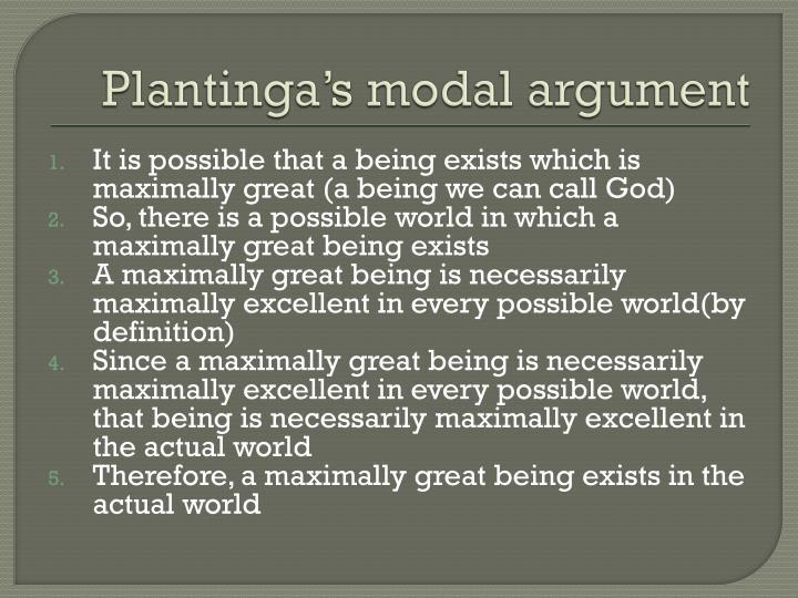 Plantinga's