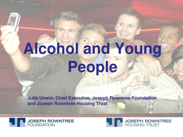 alcohol and young people n.