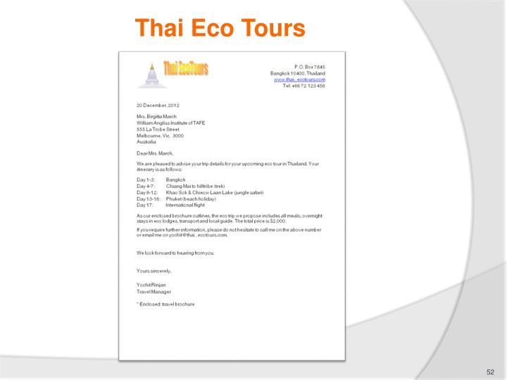 Thai Eco Tours