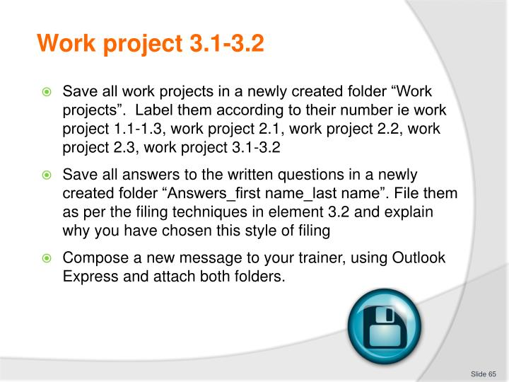 Work project 3.1-3.2