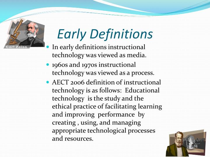 Ppt Definition Of Instructional Technology Powerpoint Presentation