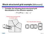 block structured grid example sstruct