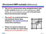 structured amr example sstruct1
