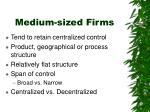 medium sized firms1