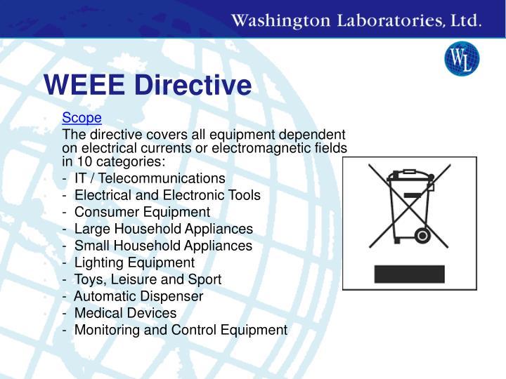WEEE Directive