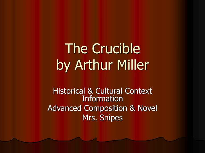 an analysis of the simple dancing in the film the crucible by arthur miller The crucible takes place in salem the crucible arthur miller buy share buy home and tituba, his black slave, dancing in the woods.