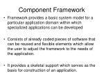 component framework