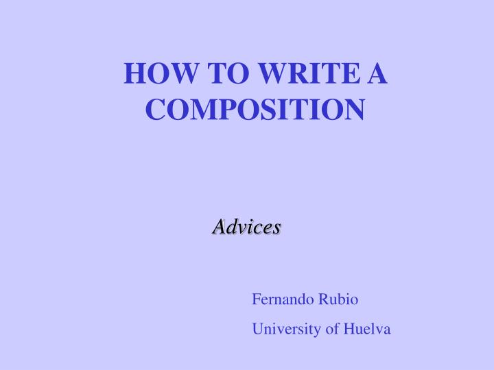 how to write a composition essay Do essay writing assignments stump your child follow this straightforward advice from a mom/professional editor for teaching kids how to write an essay.