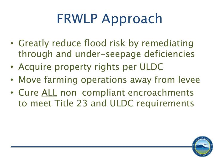 FRWLP Approach