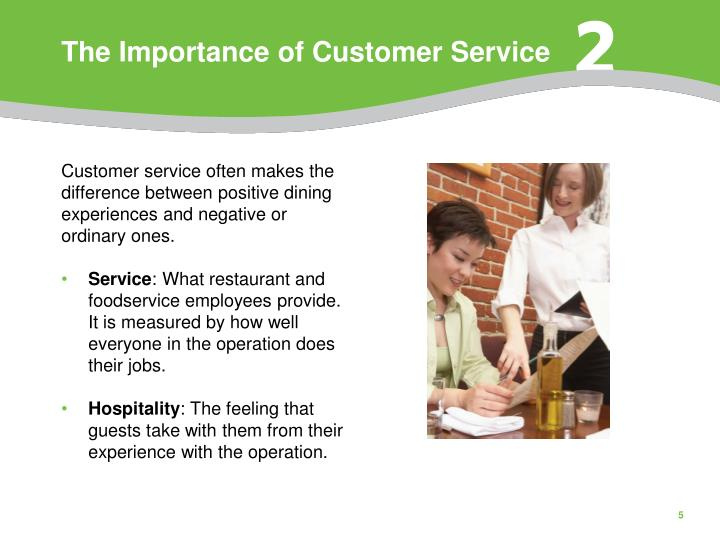importance of customer service Customer engagement management in tourism the importance of customer this shows that the company puts effort in providing good customer service.
