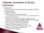 tidewater association of service contractors1