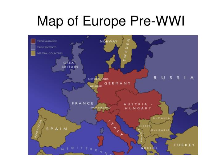 PPT - The Great War, 1914–1918 Marching Toward War Ch. 13 Section 1 ...