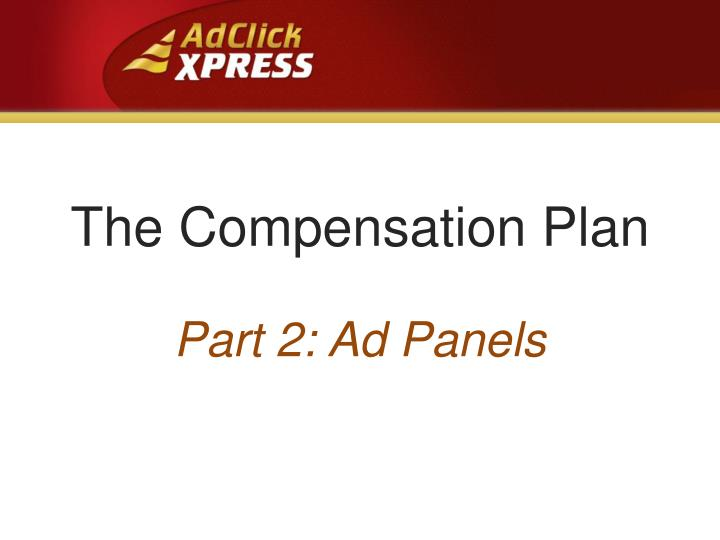 the compensation plan n.