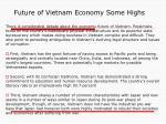 future of vietnam economy some highs