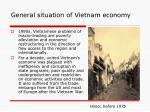 general situation of vietnam economy