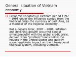 general situation of vietnam economy1