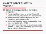 market opportunity in vietnam