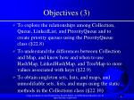 objectives 3