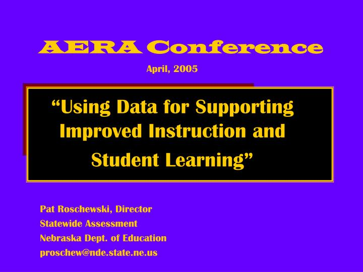aera conference n.
