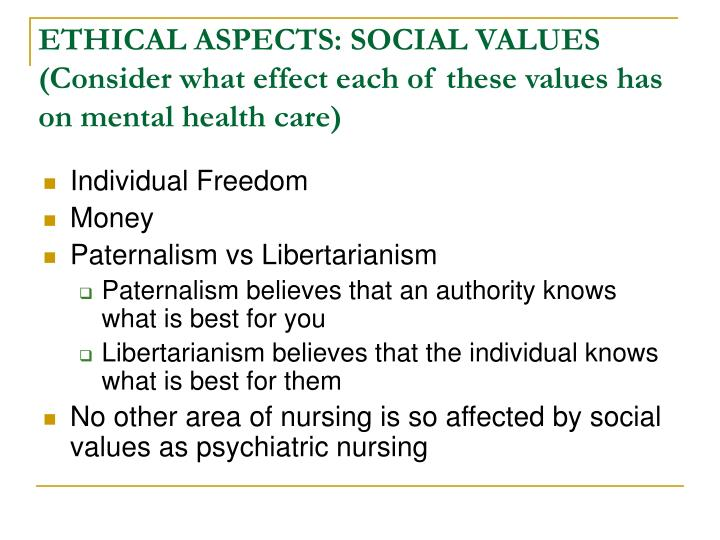 effect of values and principles in social care Higher care -unit 3- values and principles - free download as pdf file (pdf), text file (txt) or read online for free.