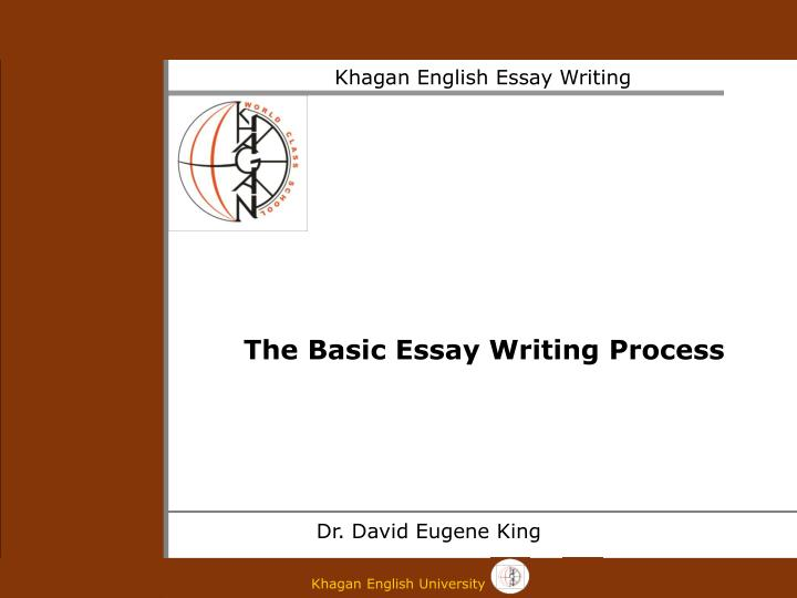 how do i write a process essay Stages of the writing process: prewriting: you may also need to consider your audience before you begin to write you set up the key words to an essay and a.
