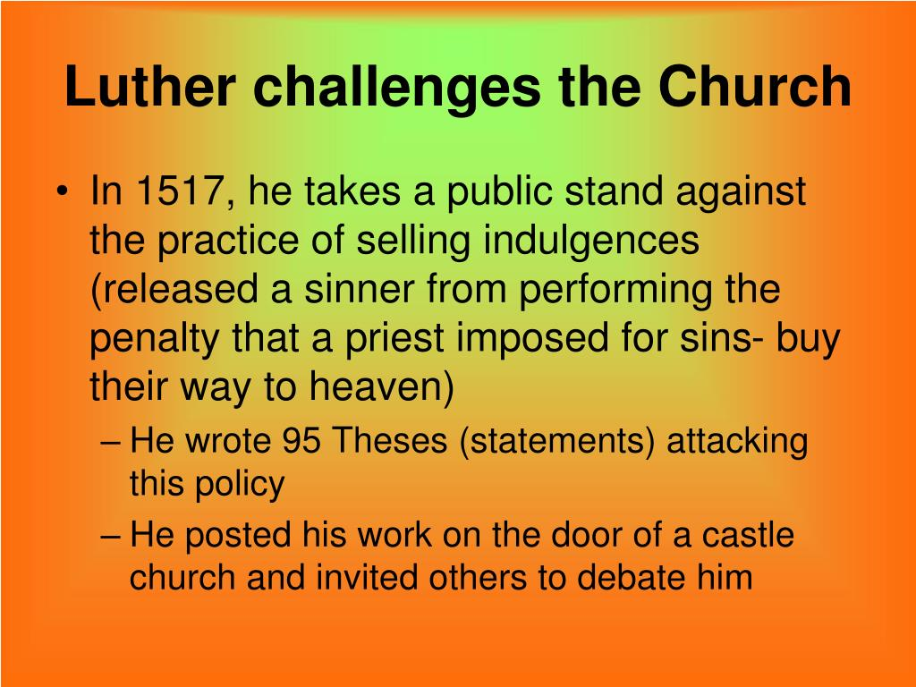 PPT - The Reformation PowerPoint Presentation, free ...