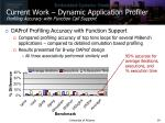 current work dynamic application profiler profiling accuracy with function call support
