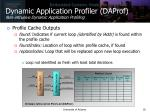 dynamic application profiler daprof non intrusive dynamic application profiling5
