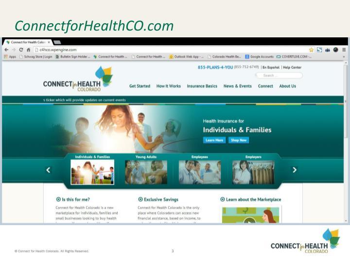 Connectforhealthco com