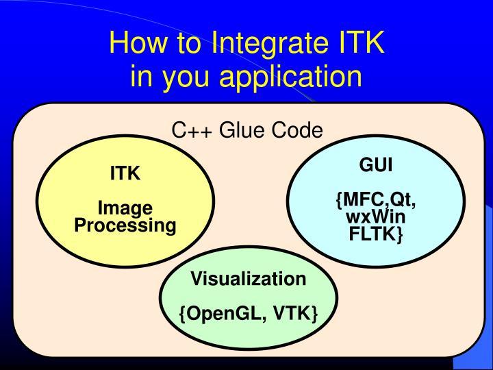 C++ Glue Code