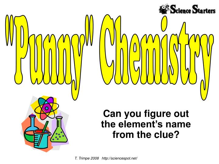 can you figure out the element s name from the clue n.