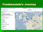 frankenstein s journey