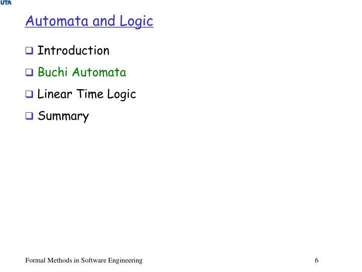 Automata and Logic