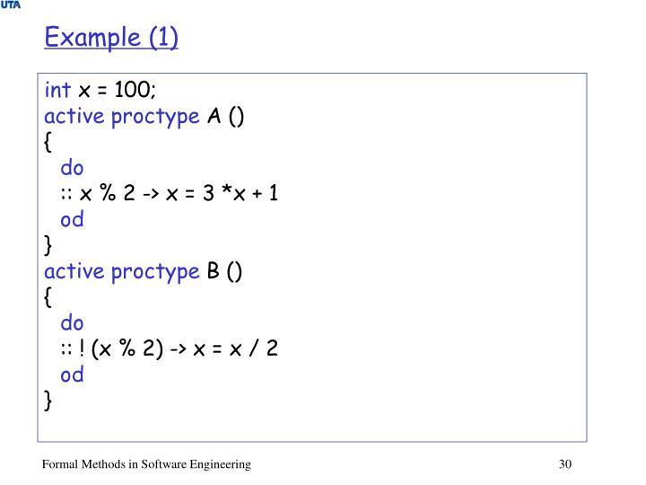 Example (1)
