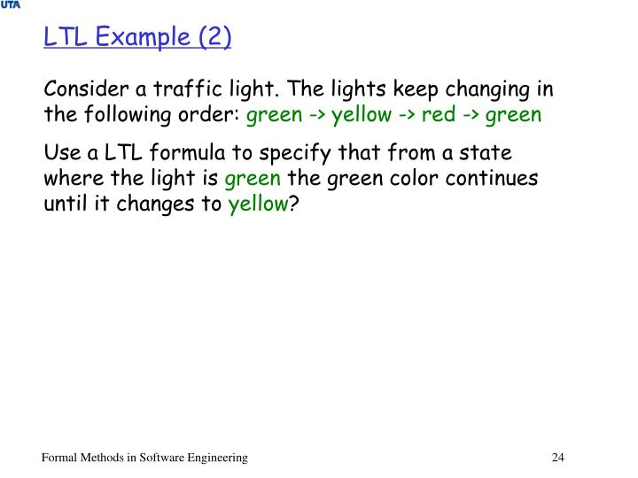 LTL Example (2)