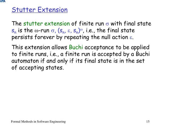 Stutter Extension