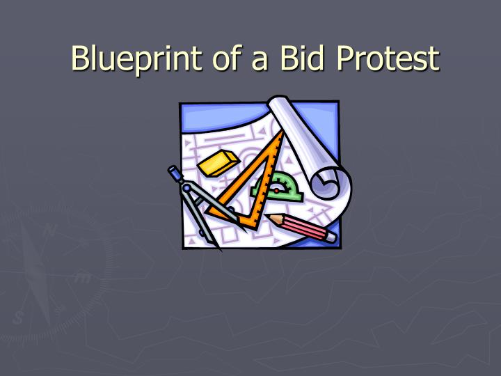 blueprint of a bid protest n.