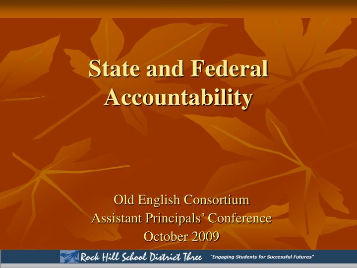 """the impact of federalism on accountability Federalism accountability: """"agency-forcing"""" measures catherine m sharkey† abstract denying """"federalism impact"""" of preemption."""