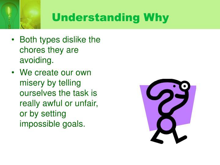 Understanding Why