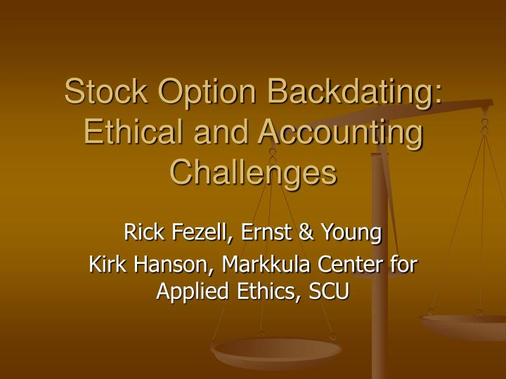 ethical in accounting