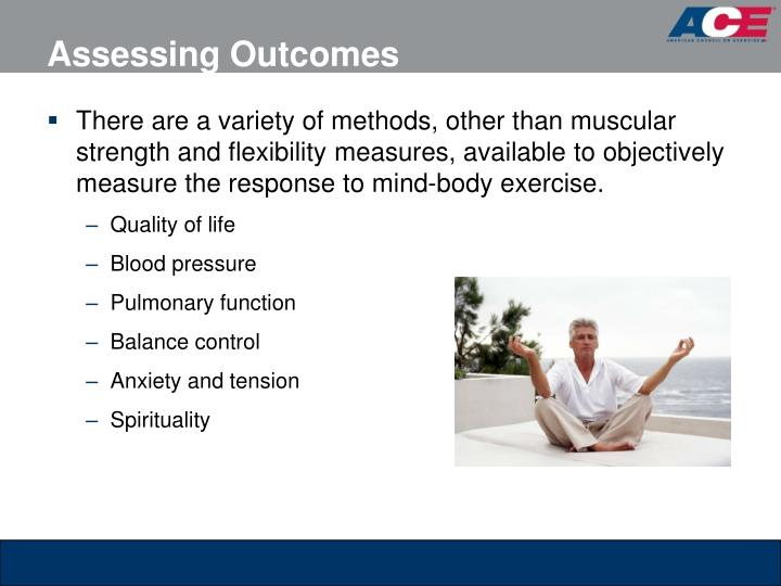 Assessing Outcomes