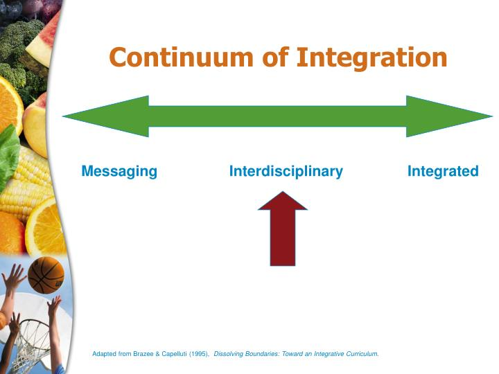 Continuum of Integration
